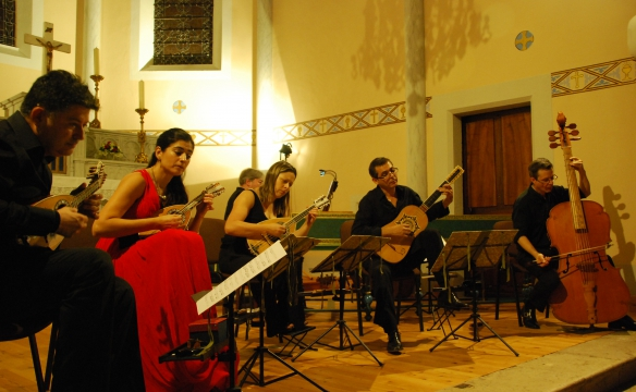 Arte Mandoline en concert à Epersy. Aout 2014