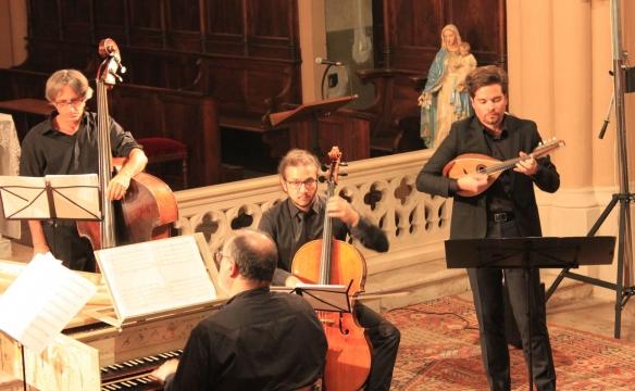 Concerto italiano et Julien Martineau, mandoline. Bellecombe. juill. 2019