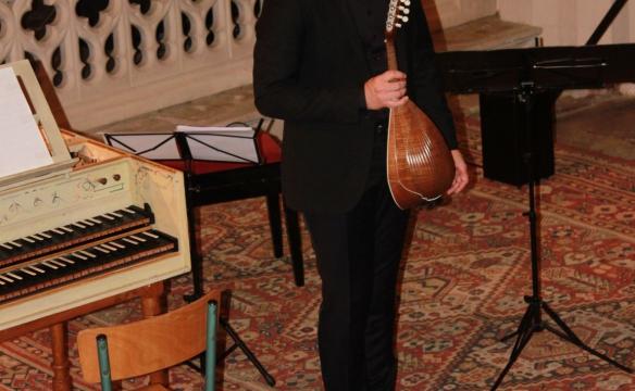 Concerto italiano et Juilen Martineau, mandoline. Bellecombe. juill. 2019
