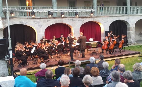 Orchestre des Pays de Savoie. J. Portier-Dube, Cor. Chartreuse d'Aillon. Juillet 2019