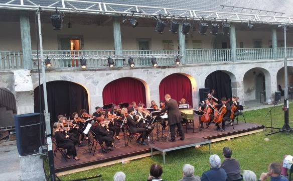 Orchestre des Pays de Savoie. Chartreuse d'Aillon. Juillet 2019