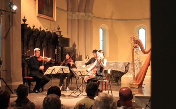 Quatuor Hermès. Viuz-Faverges. Juillet2019