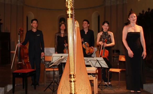Anaïs Gaudemard et Quatuor Hermès
