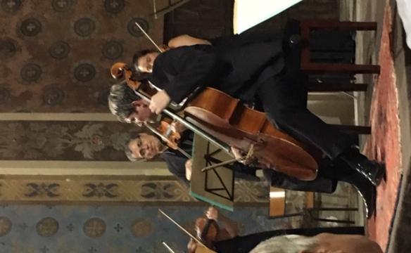 Jérôme Pernoo, violoncelle, et les Musiciens du Louvre. Le Châtelard. Août 2019