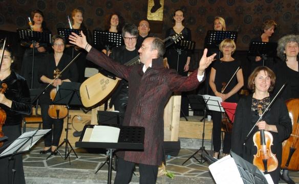 Le Concert spirituel dirigé par Hervé Niquet - Le Châtelard - Août 2014