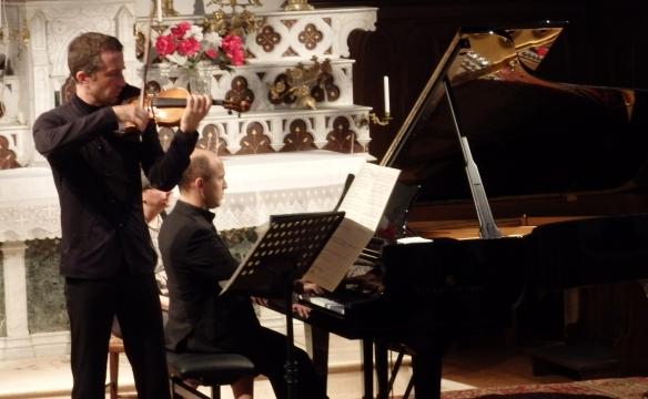 Tedi Papavrami et Nelson Goerner, Doucy-en-Bauges. Août 2016
